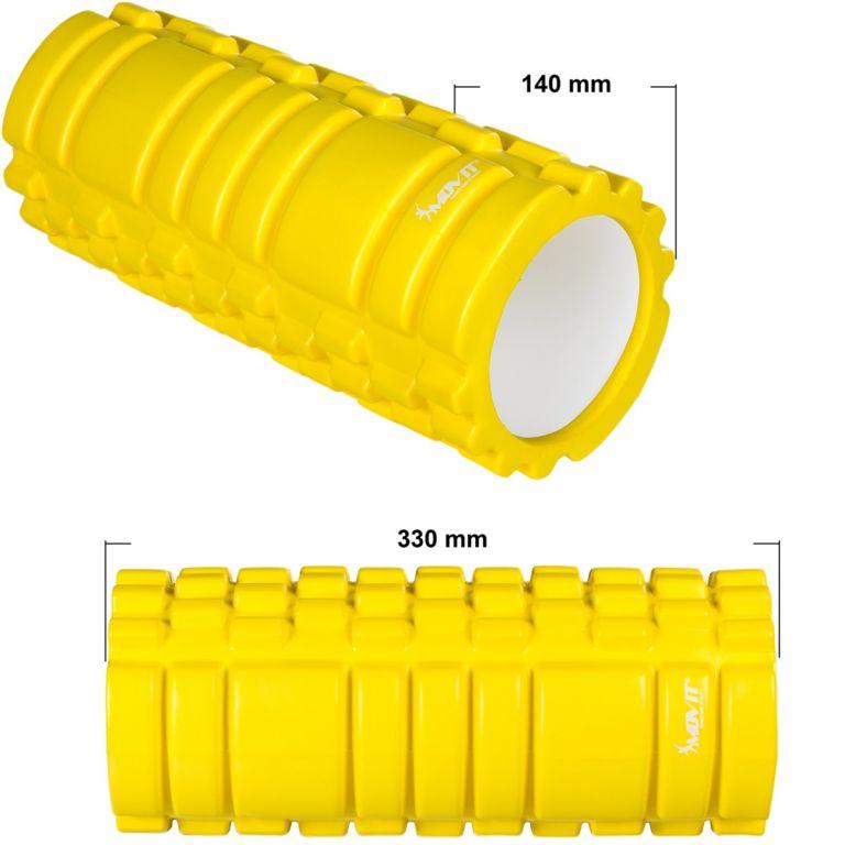 MOVIT masszázs henger - sárga