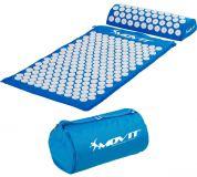 Akupresszúrás matrac MOVIT® 75 x 44 cm - kék világos