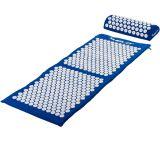 MOVIT akupresszúrás matrac 130 x 50 cm, párnával - kék