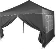 Kerti sátor összecsukható INSTENT Basic 3 x 3 m - antracit