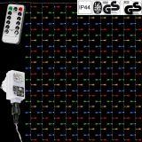 Karácsonyi fényfüggöny VOLTRONIC® 3x6m/600 LED - színes