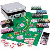 Póker készlet 600 db-os zseton - ULTIMATE