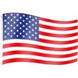 Zászló USA - 120 x 80 cm