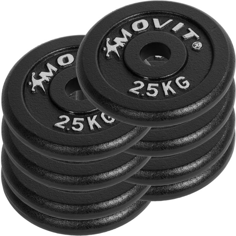 Profi egykezes súlyzó szett - MOVIT 2 x 15 kg