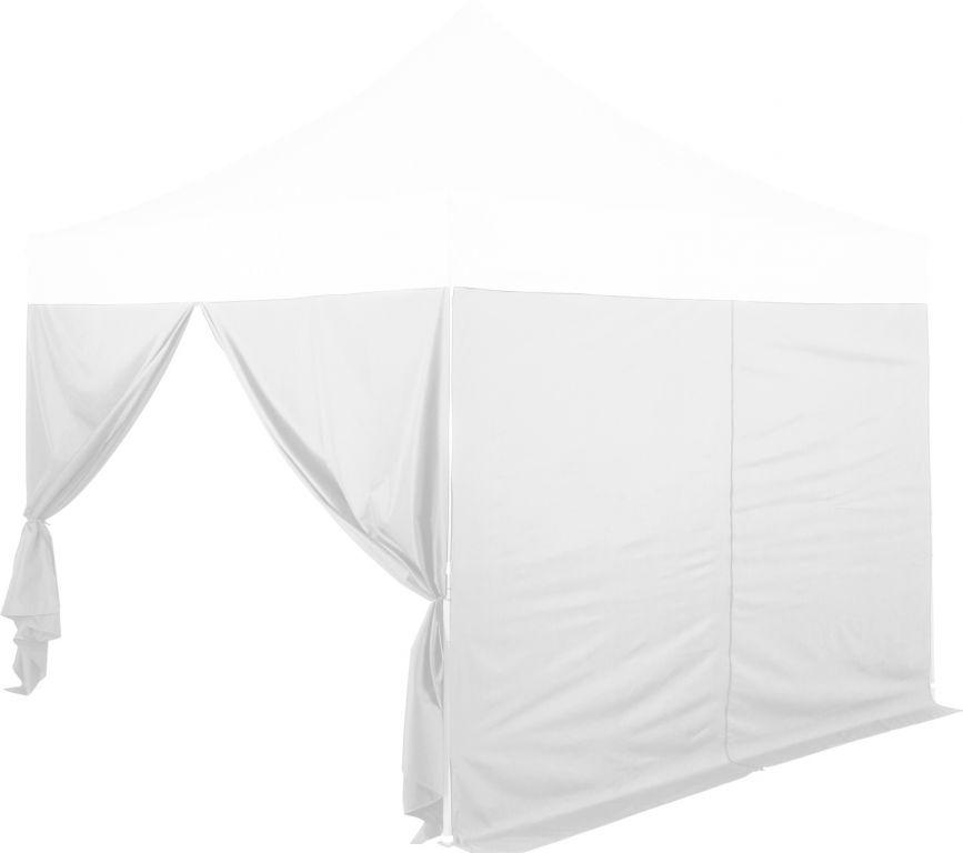 Pavilon oldalfal INSTENT® PRO 3 x 3 m Fehér