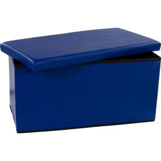 Tároló láda - pad - kék