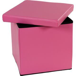 Zsámoly tároló résszel - rózsaszín
