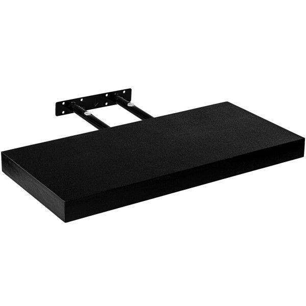 Fali polc Stilista® Volato Fekete 80 cm