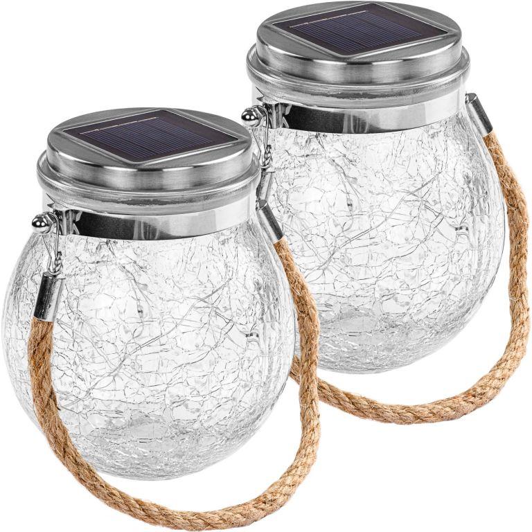 Napelemes világítás lámpa 2 db VOLTRONIC LED