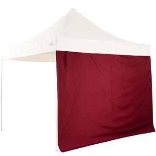 Szett 2 sátor oldalfal 3x3  STILISTA bordó