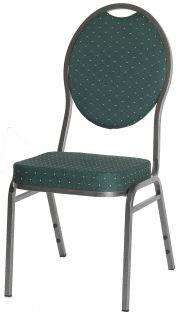 Minőségi szék fémből - MONZA, zöld