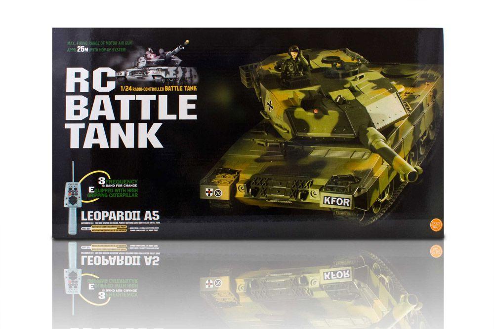 R/C tank LEOPARD II - távirányító
