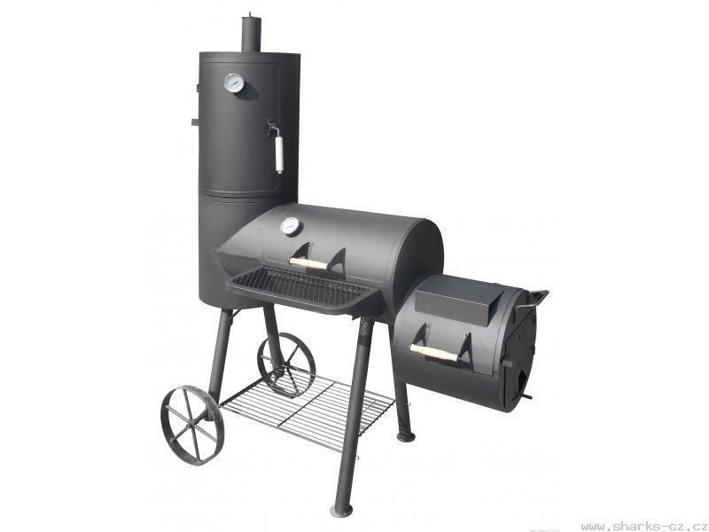 Kerti grill KORFUN Maxi - faszenes