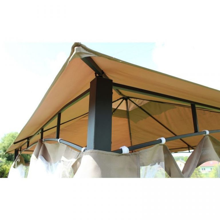 Kerti pavilon MONTE - 3,65 x 3 m