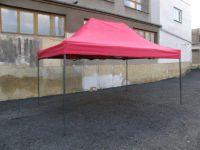 Kerti párti sátor DELUXE 3 x 4,5 m - piros
