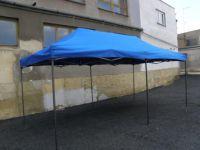 Kerti sátor pavilon DELUXE 3 x 6 m - kék