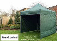 Kerti pavilon PROFI STEEL 3 x 4,5 - sötét zöld