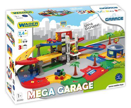 Mega garázs WADER 3 emelet + 3 autó
