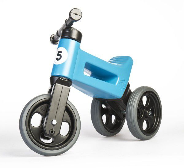 Futóbicikli FUNNY WHEELS 2in1 - kék