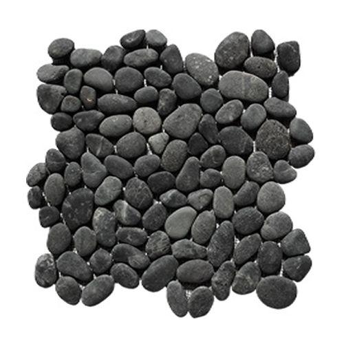 Mozaik burkolat BLACK SUMATRA 1 m2 - fekete, szürke