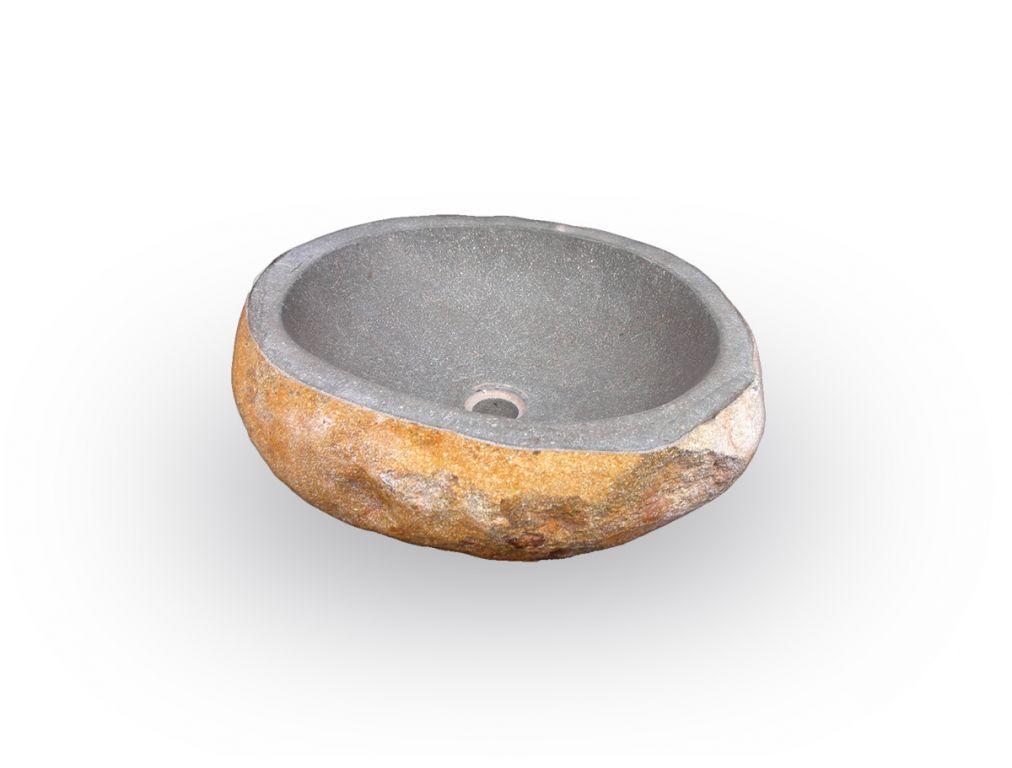 Mosdókagyló természetes kőből - The Lavabo Cut