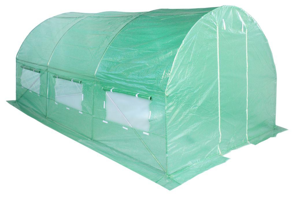 Fóliasátor 250 x 400 cm - zöld