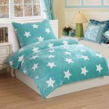 Ágynemű STARS MINT - türkiz