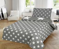 Ágynemű STARS - szürke
