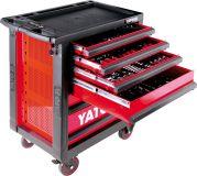 Szerszámos kocsi YATO 5530 - piros
