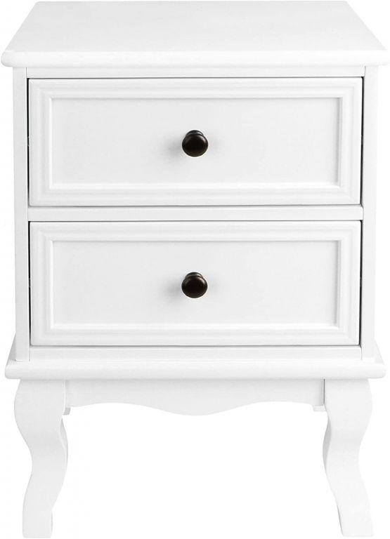 Éjjeliszekrény 34 x 29,5 x 50 cm - fehér