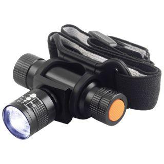 TESLA Zoom 140L fejlámpa, fémházas, LED 3W Cree