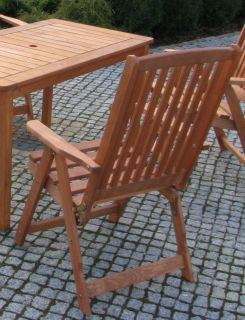 Kerti szék fából HOLIDAY, pácolt FSC