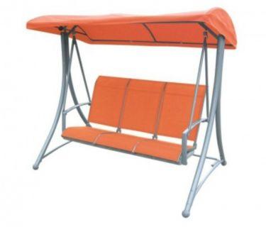 Kerti hintaágy HOLLYWOOD - narancssárga