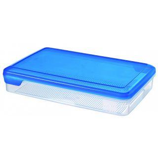 Műanyag doboz FLEXI CHEF 2.4L - kék fedél CURVER