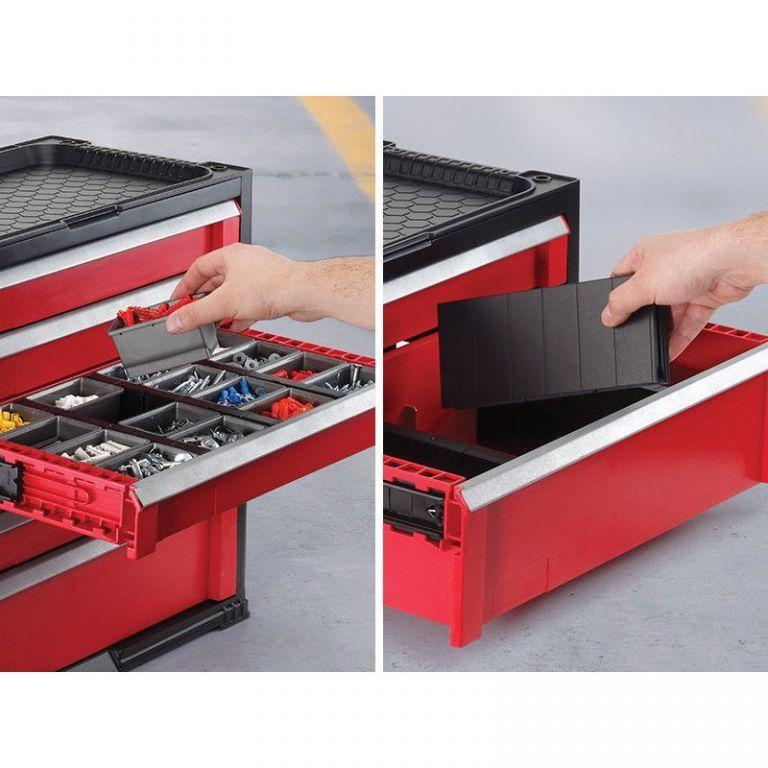 Szerszámtároló doboz KETER - 3 fiókos