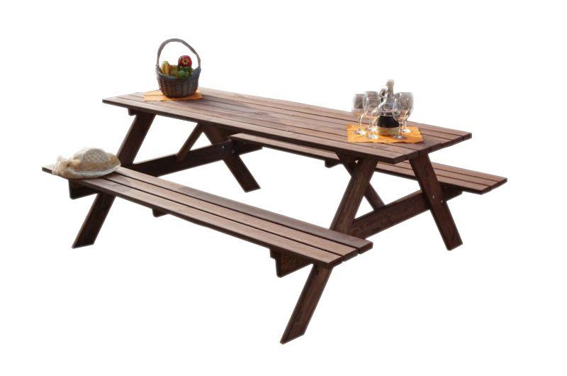 Kerti bútor készlet PIKNIK - 180 cm