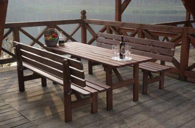 Asztal fából MIRIAM - 200CM