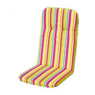 Párna magas háttámlájú székhez SCALA HOCH - csíkos mintázattal