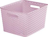 Műanyag kosár CURVER MY STYLE L - rózsaszín
