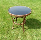 Kerti asztal  RATAN -  ø 80cm