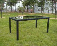 Kerti asztal RATAN - 150 x 150 cm
