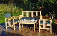 Kerti bútor készlet SAFARI - kőrisfa