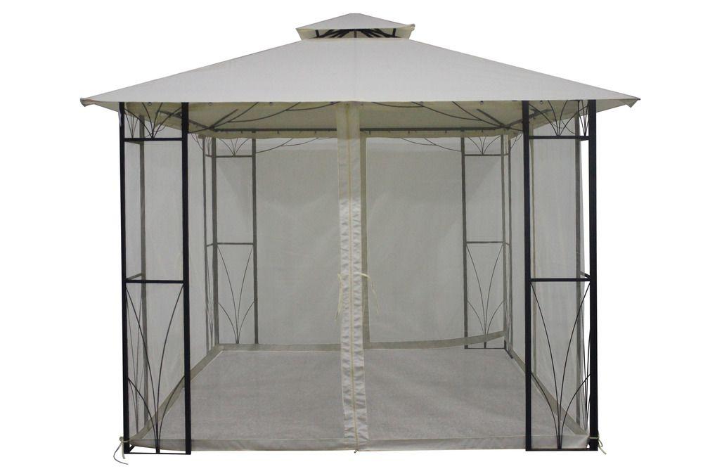 Kerti pavilon SULAWESI 3 x 3 m - elefántcsont