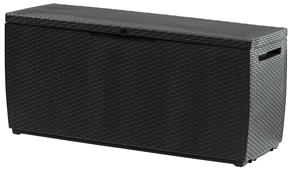 Kerti tároló doboz CAPRI 57 x 123 x 65 cm - antracit