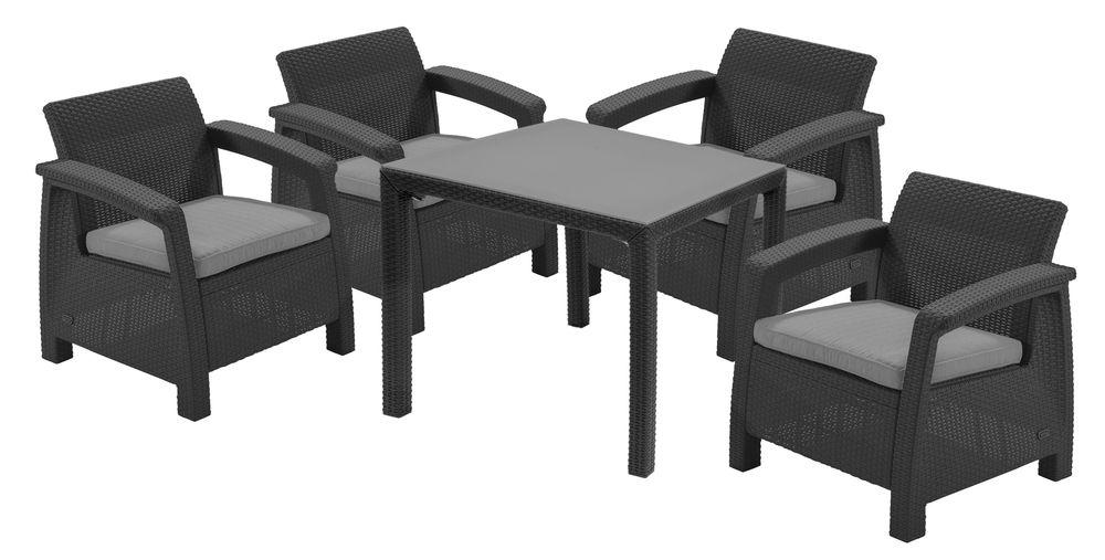 Kerti asztal SUMATRA - antracit