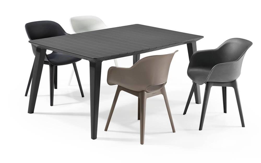 Kerti szék AKOLA - cappuccino