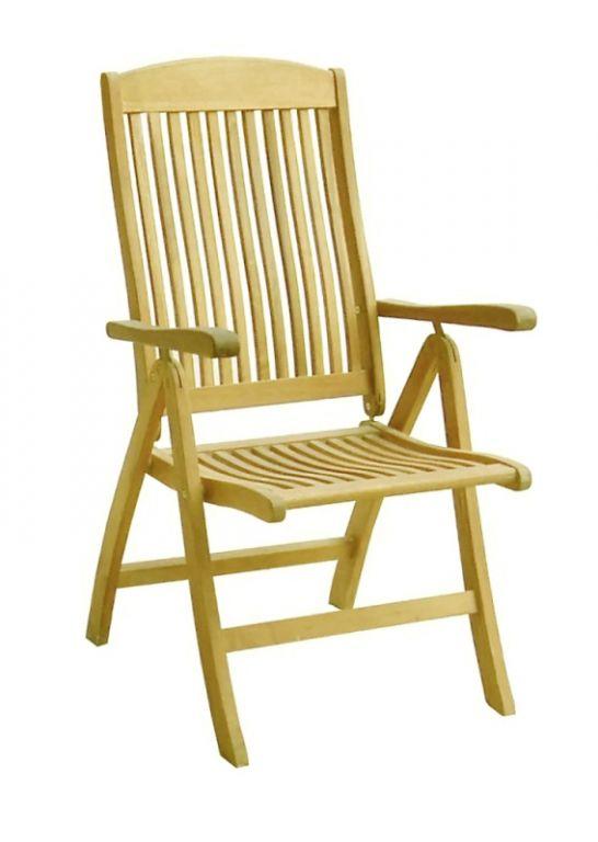 Kerti szék állítható ROBIN akácfa