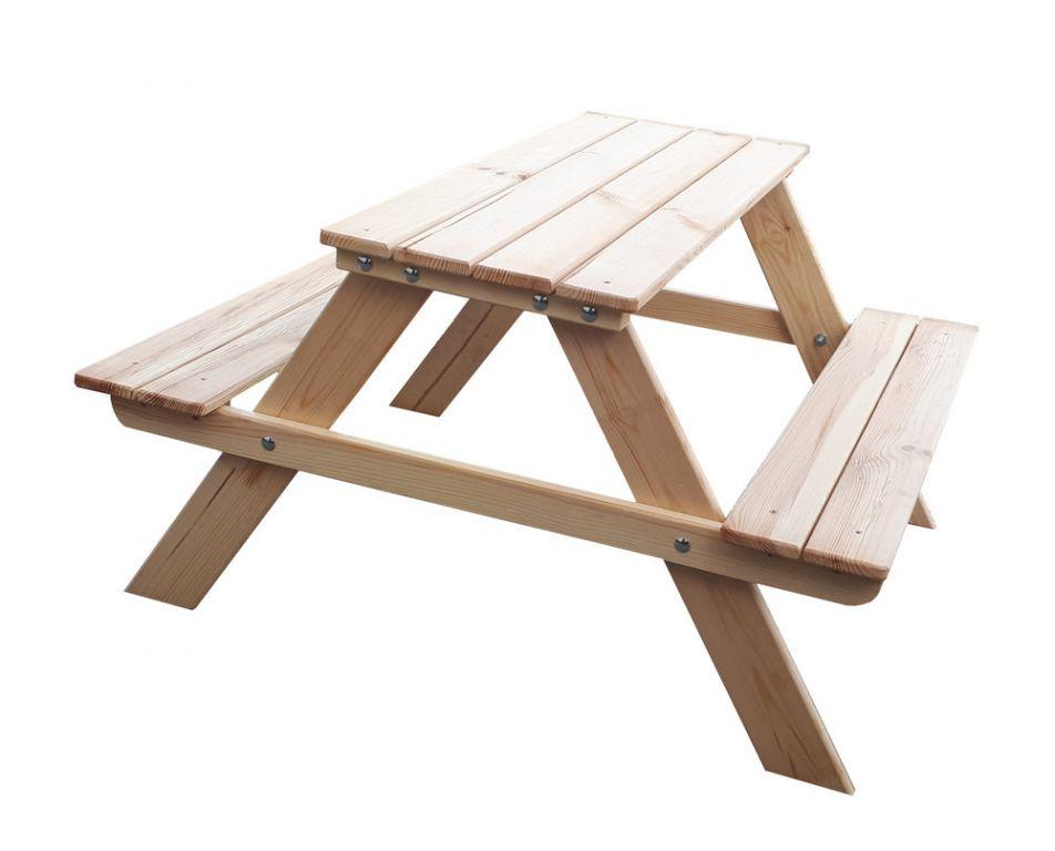 Kerti gyerekbútor készlet PIKNIK - 90 cm