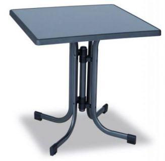 Fém asztal PIZZARA 70 x 70 cm