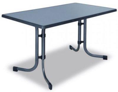 Fém asztal PIZZARA 115 x 70 cm
